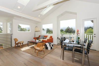 60 Hillside Avenue in Mill Valley listing for sale offered by Peter and Karin Narodny with Frank Howard Allen