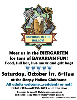 Hofbrau Festivities in Sleepy Hollow in San Anselmo